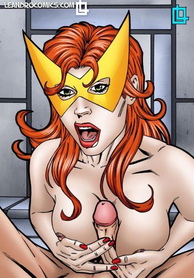 Leandro- Jean Grey Dressed as Marvel Girl
